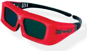 3D Cinema Active Glasses - X102 Home